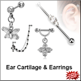 Ear Cartilage & Earrings