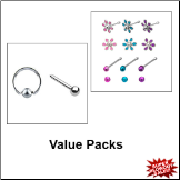 Nose Jewelry Value Packs