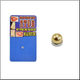 Gold Plated Magnetic Monroe, Labret, Nose, Ear Stud
