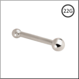 14KT Solid White Gold Nose Bone 2mm Ball 22G
