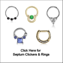 Septum Clickers & Rings