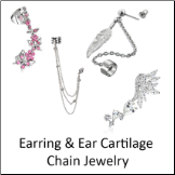 Ear and Chain Jewelry