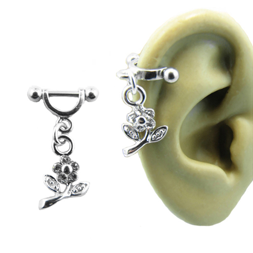 Blow out sale 316l surgical steel ear cartilage helix for Helix piercing jewelry canada