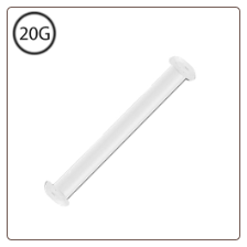 Nose Stud Retainer Monofilament + FREE Backing 20G