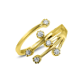 10KT Yellow Gold Toe Ring