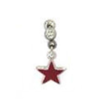 **BLOW OUT SALE**  Ear Cartilage Jewelry Red Star CZ