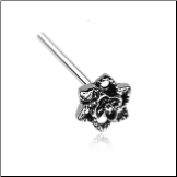 316L Surgical Steel Camellia Flower Nose Stud Choose Your Style 20G
