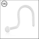 Micro Nose Screw Retainer Bioflex 18G