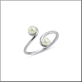 **BLOW OUT SALE** 925 Sterling Silver Pearl Toe Ring