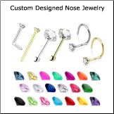 Custom Design Your Nose Jewelry