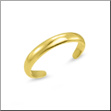 10KT Yellow Gold Toe Ring Band