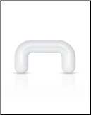Bioflex Septum Nose Retainer Clear