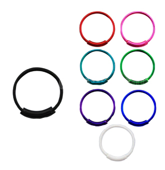 Colorful Nose Hoops
